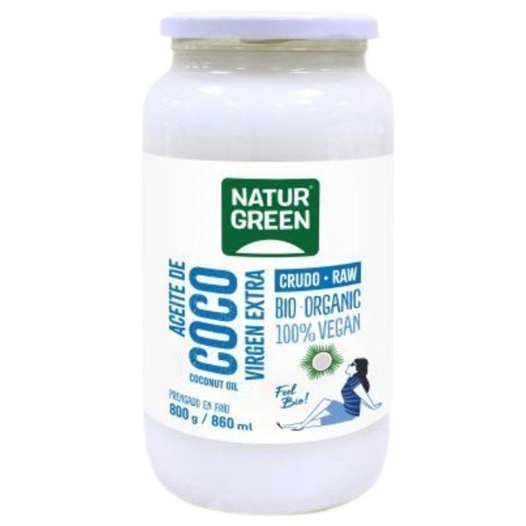 Aceite de Coco Virgen Extra Bio 860ml