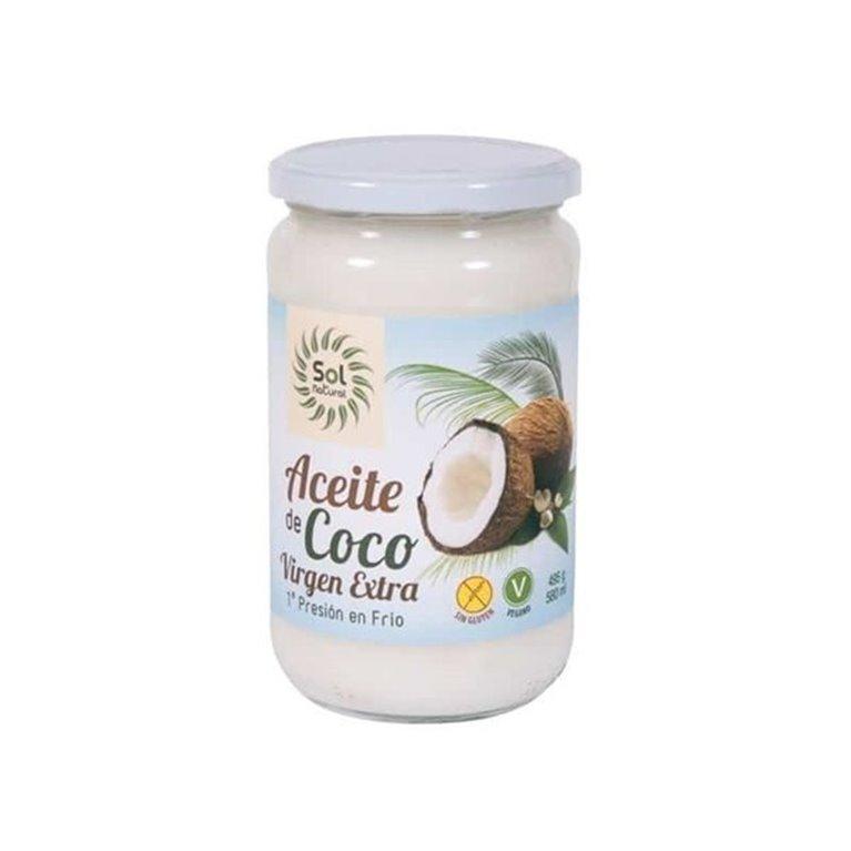 Aceite de coco virgen extra grande bio 370ml