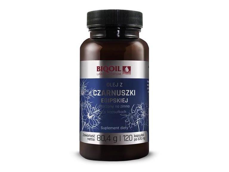 Aceite de comino negro egipcio - 120 cápsulas