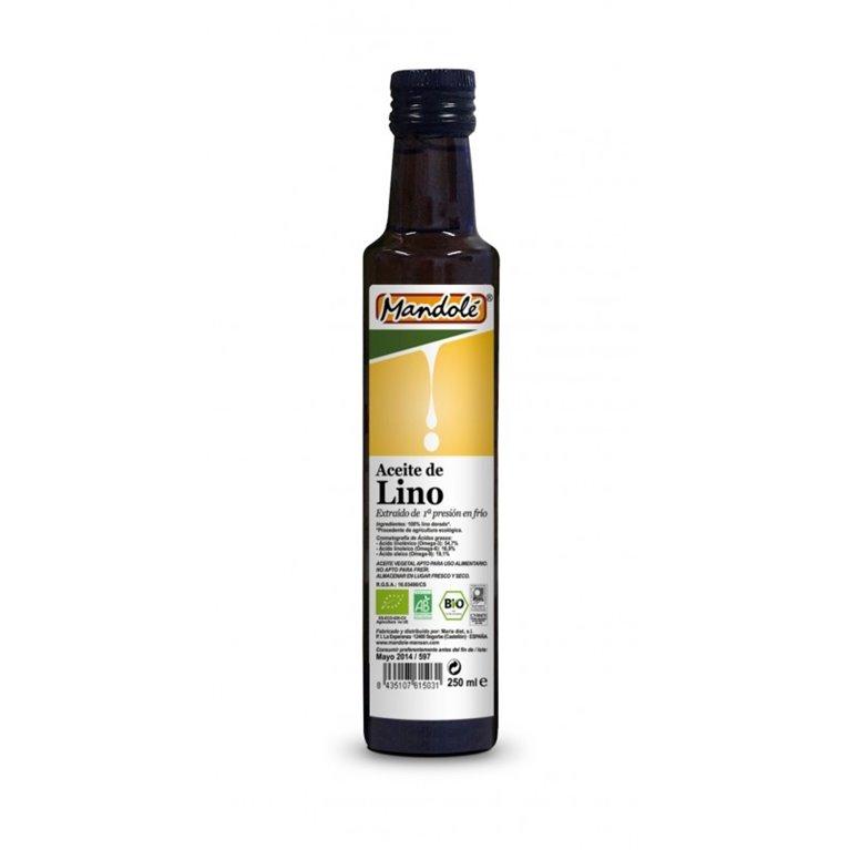 Aceite de Lino Dorado Bio 500ml
