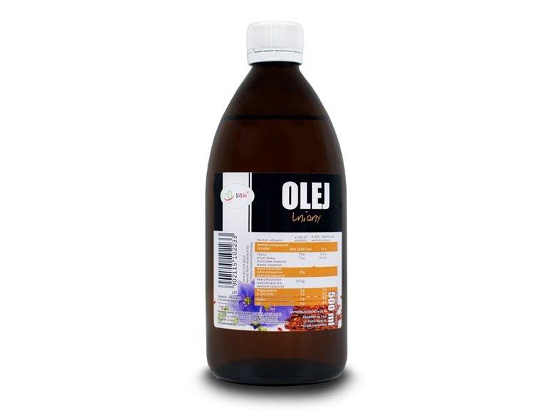 Aceite de lino Prensado en frío 500ml