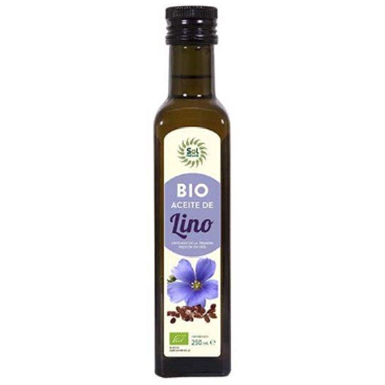 Aceite de Lino Virgen Bio 250ml, 1 ud
