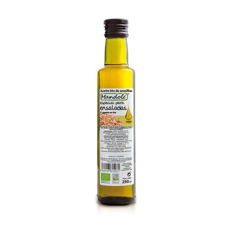 Aceite de Mezcla de Semillas Bio 250ml