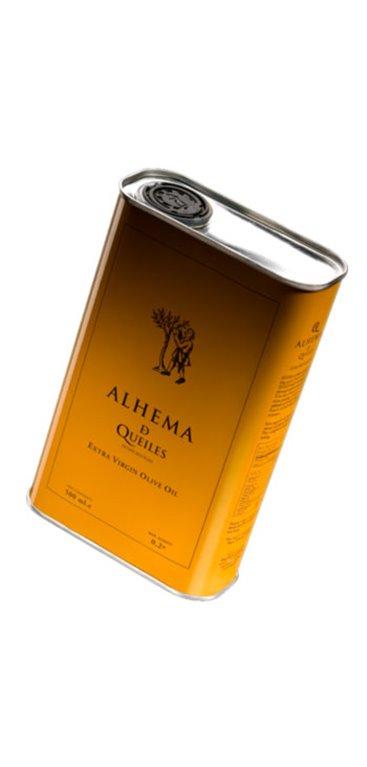Aceite de Oliva Alhema de Queiles lata 1 Litro, 1 ud
