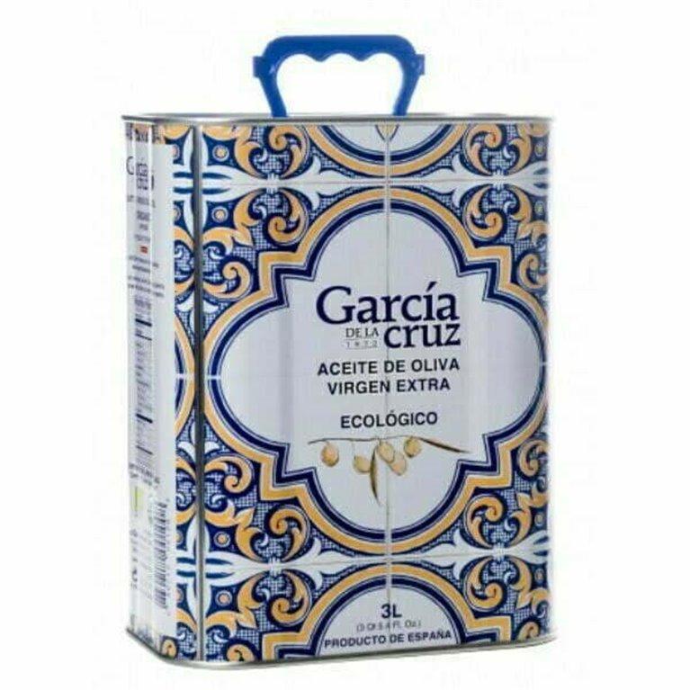 Aceite de Oliva Ecológico García de La Cruz 3L