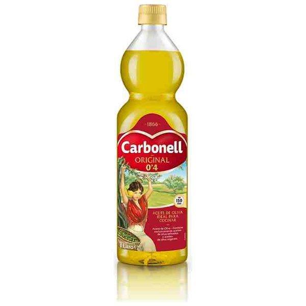 Aceite de Oliva ideal para cocinar 0,4 Carbonell 1L