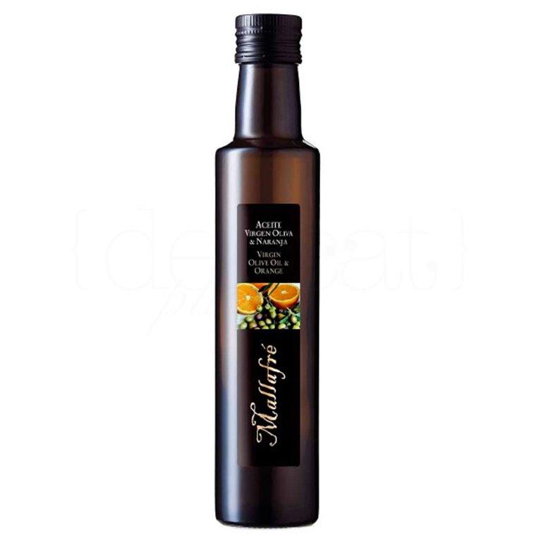 Aceite de oliva virgen con naranja 250ml. Mallafré. 12un., 1 ud