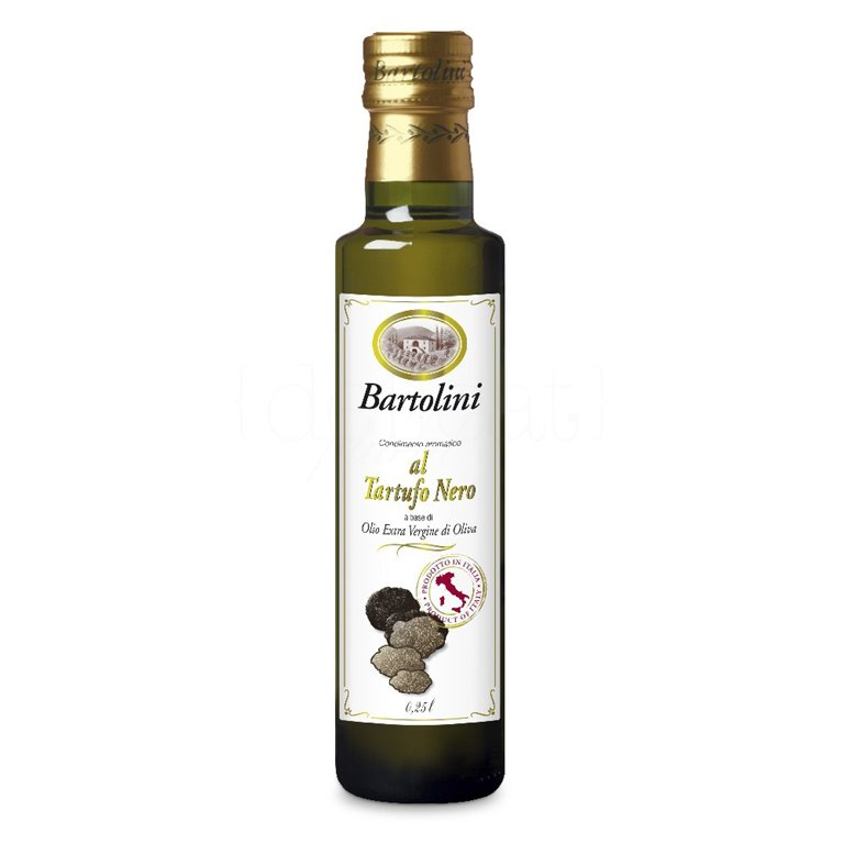 Aceite de Oliva Virgen con Trufa Negra 250ml. Bartolini. 6un., 1 ud