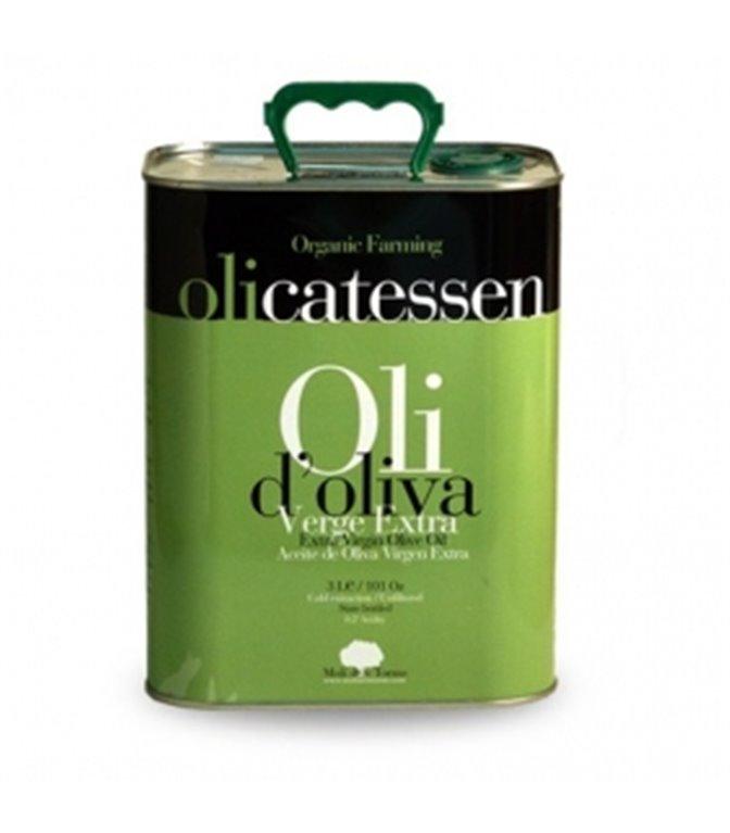 Aceite de Oliva Virgen Extra 3l. Olicatessen. 4un.