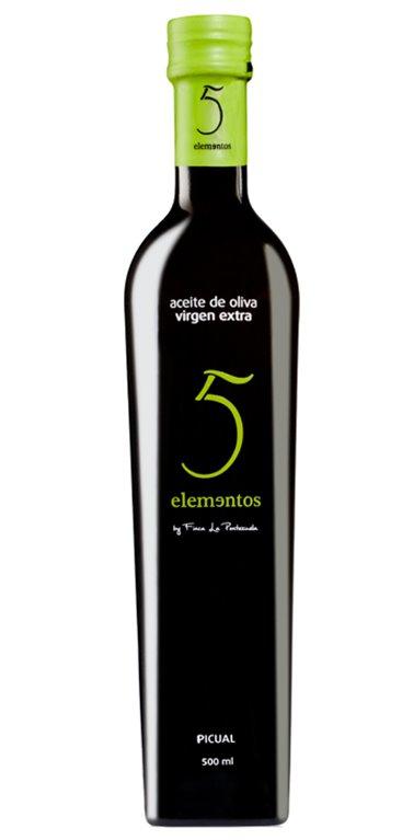 Aceite de Oliva Virgen Extra 5 Elementos Picual 500ml