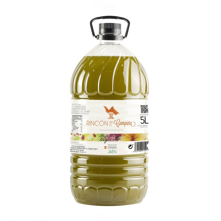 Aceite de Oliva Virgen Extra 5L (Caja 3 Bot.) RINCON DE LA CAMPIÑA
