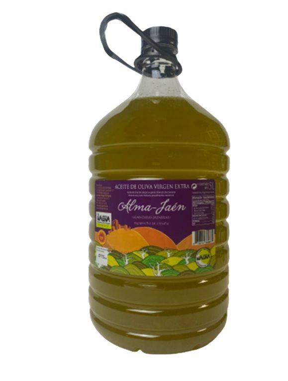 Aceite de oliva virgen extra. Alma Jaén. 5 Litros., 1 ud