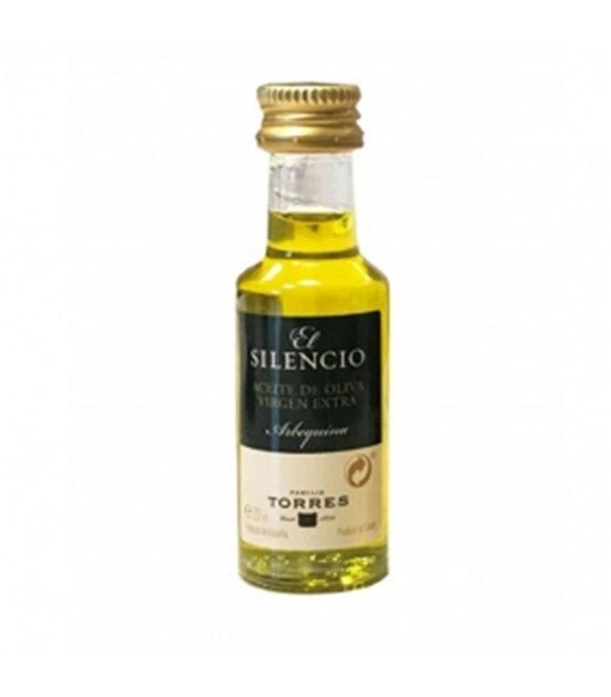 Aceite de Oliva Virgen Extra Arbequina El Silenci Monodosi 20ml. Torres. 200ud