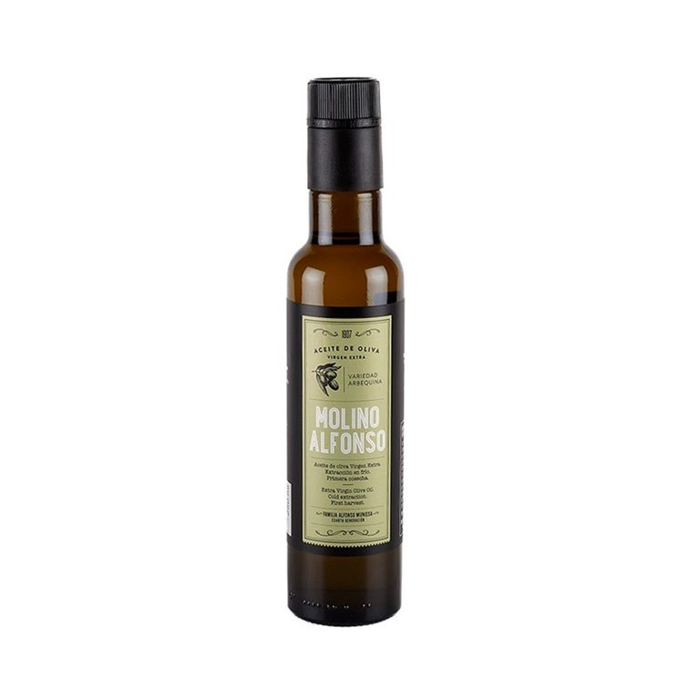 Aceite de oliva Virgen Extra Arbequina Molino Alfonso 250ml
