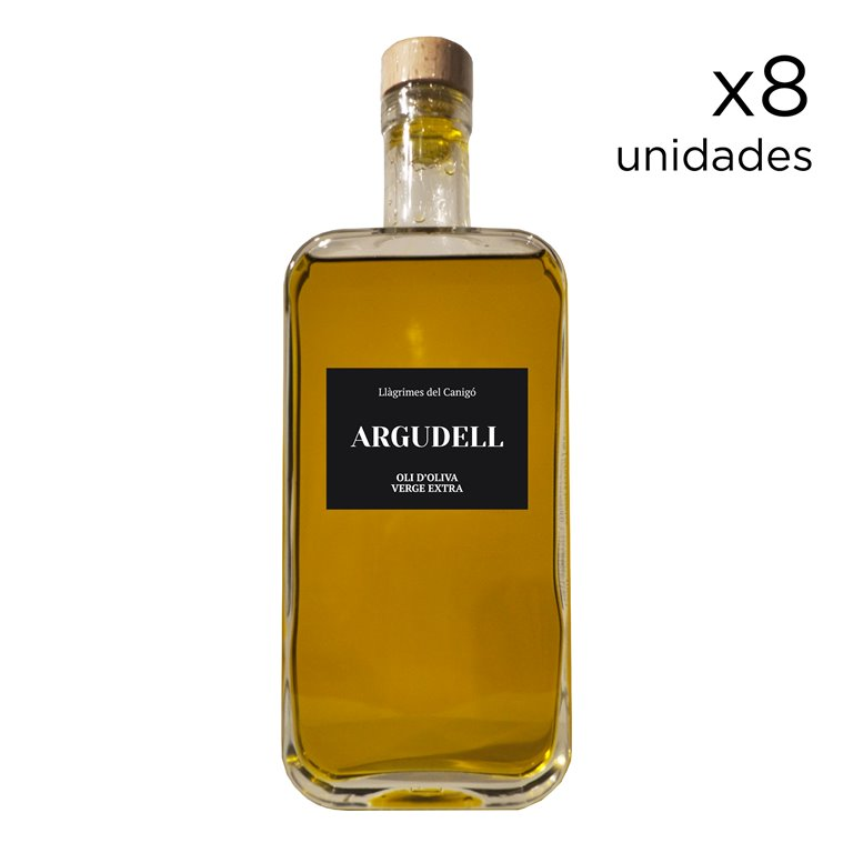 Extra Virgin Olive Oil Argudell 0,5L - 8 units