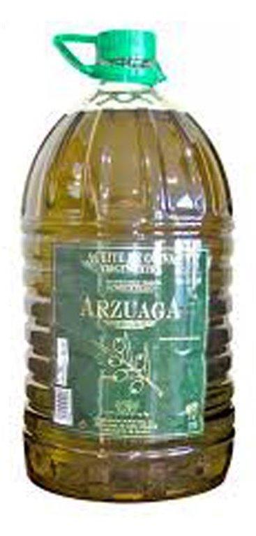 Aceite de Oliva Virgen Extra Arzuaga Cornicabra 5L