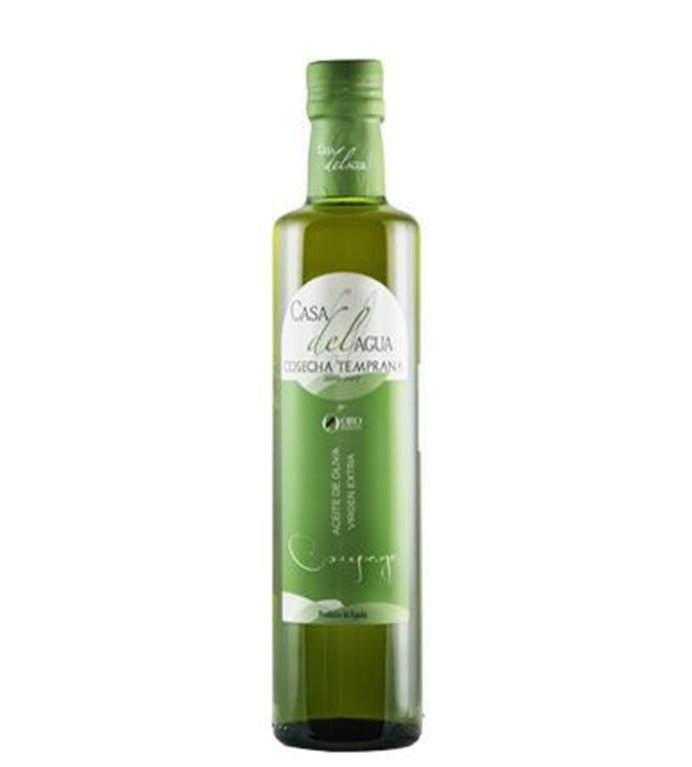 Aceite de Oliva Virgen Extra. Casa del agua. Cosecha temprana. Botella 500 ml. caja de 12 uds., 1 ud