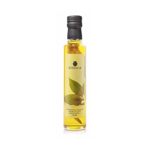 Aceite de oliva virgen extra condimento laurel 250ml.