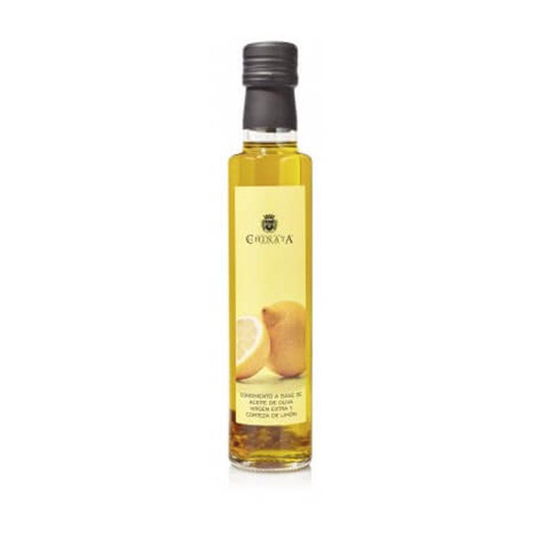 Aceite de oliva virgen extra condimento limón 250ml.