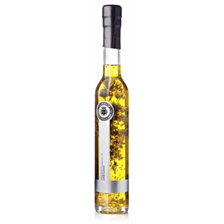 Aceite de oliva virgen extra condimento orégano 250ml.