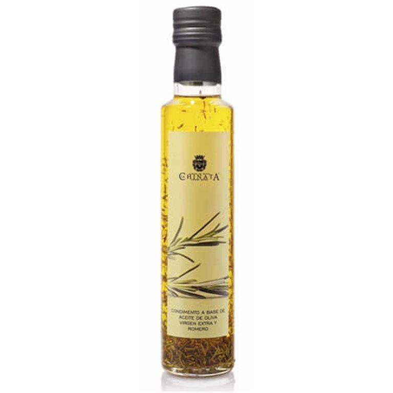 Aceite de oliva virgen extra condimento romero 250ml.