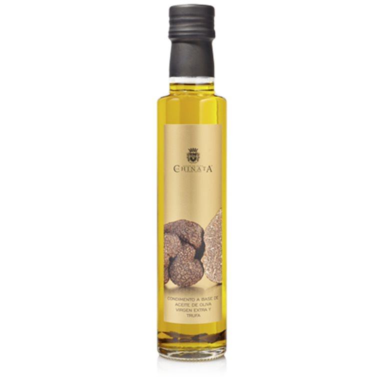 Aceite de oliva virgen extra condimento trufa 250ml.