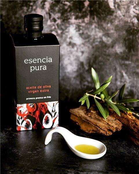 Aceite de Oliva Virgen Extra de Primera Extracción en Frío