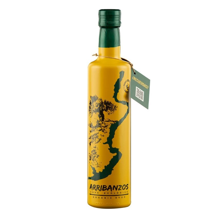 Aceite de Oliva Virgen Extra Ecológico Arribanzos 500ml