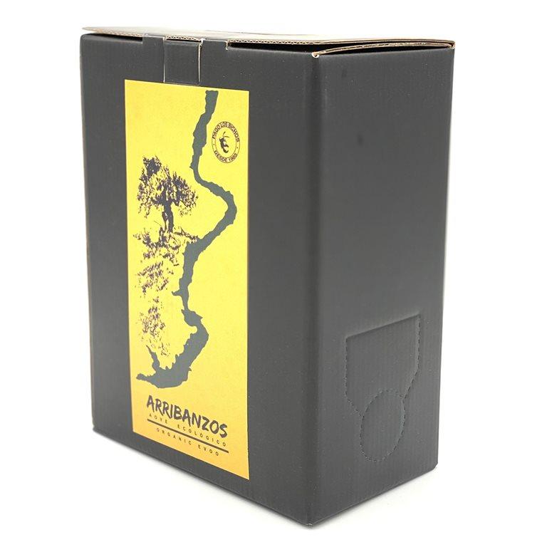 "Aceite de Oliva Virgen Extra Ecológico ""Arribanzos"" BAG IN BOX 3L"