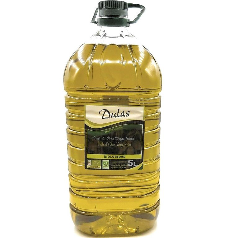 Aceite de Oliva Virgen Extra ecológico Dulas 5000ml, 1 ud