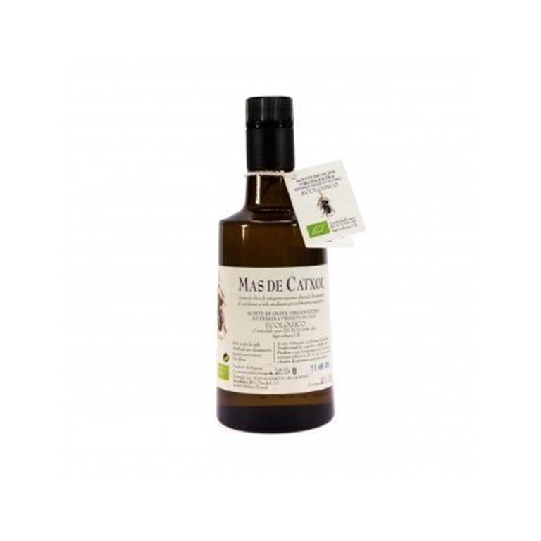 Aceite de oliva virgen extra ecológico Mas de Catxol