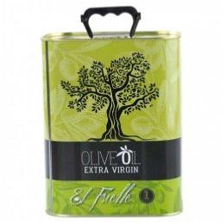 Aceite de oliva virgen extra El Fuelle 3L Lata, 1 ud
