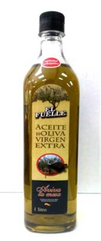 Aceite de oliva virgen extra El Fuelle Arbequina 1L, 1 ud