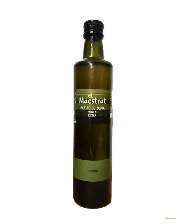 Aceite de oliva virgen extra (El Maestrat) Coop. Sant Jordi (Castellón) botella cristal 0,5 l