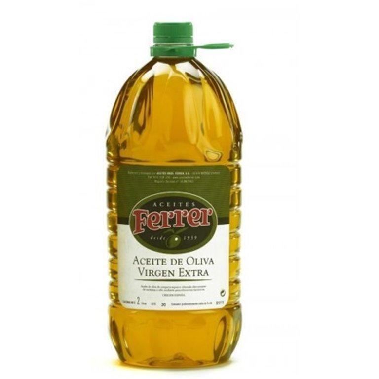 Aceite de oliva virgen extra Ferrer 2L, 1 ud