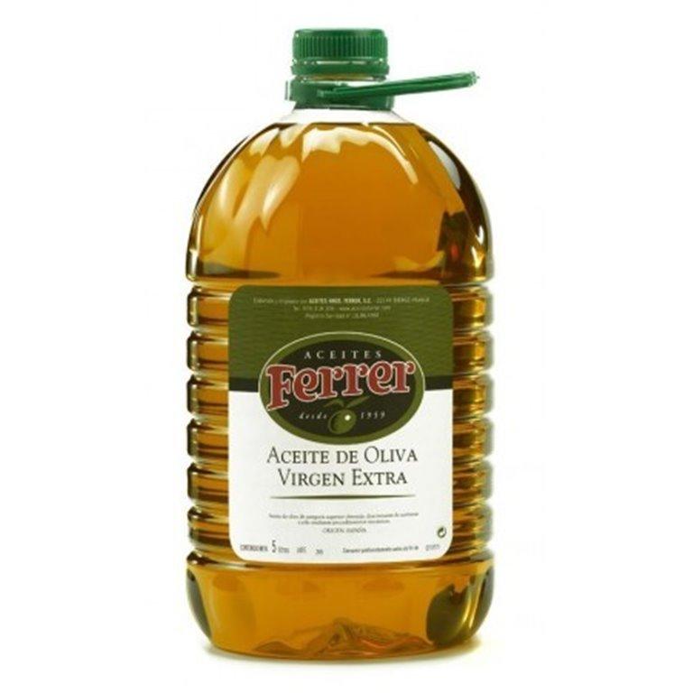 Aceite de oliva virgen extra Ferrer 5L, 1 ud