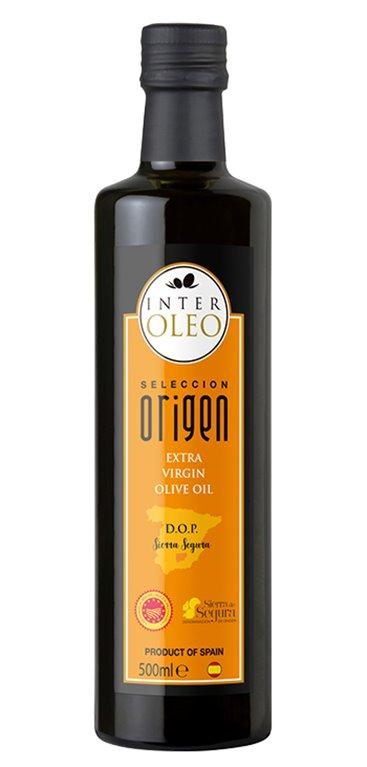 Aceite de Oliva Virgen Extra Interóleo D.O.P Sierra Segura