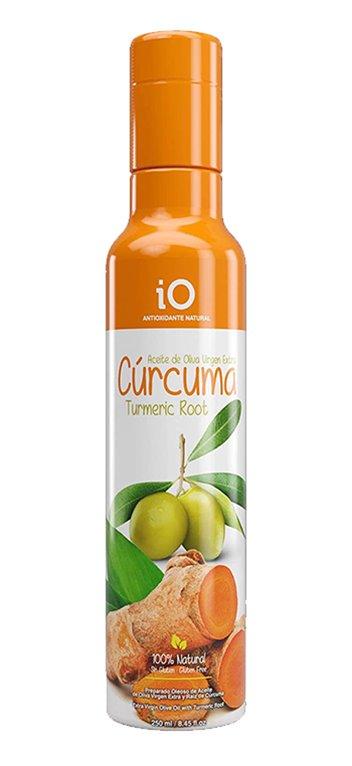 Aceite de Oliva Virgen Extra iO con Cúrcuma 250ml