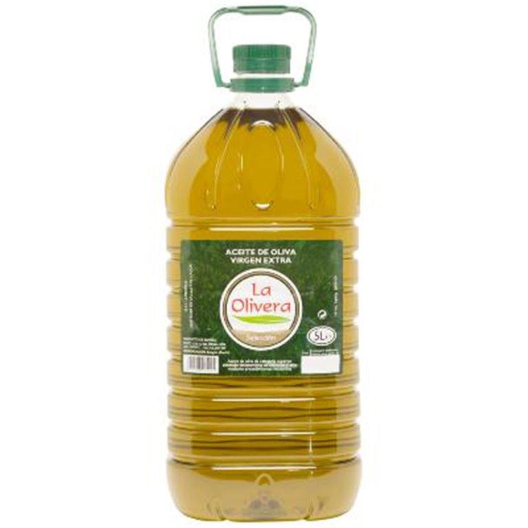 Aceite de oliva virgen extra La Olivera selección 5L, 1 ud