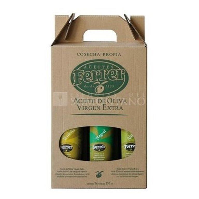 Aceite de oliva virgen extra Pack Monovarietal Ferrer, 1 ud
