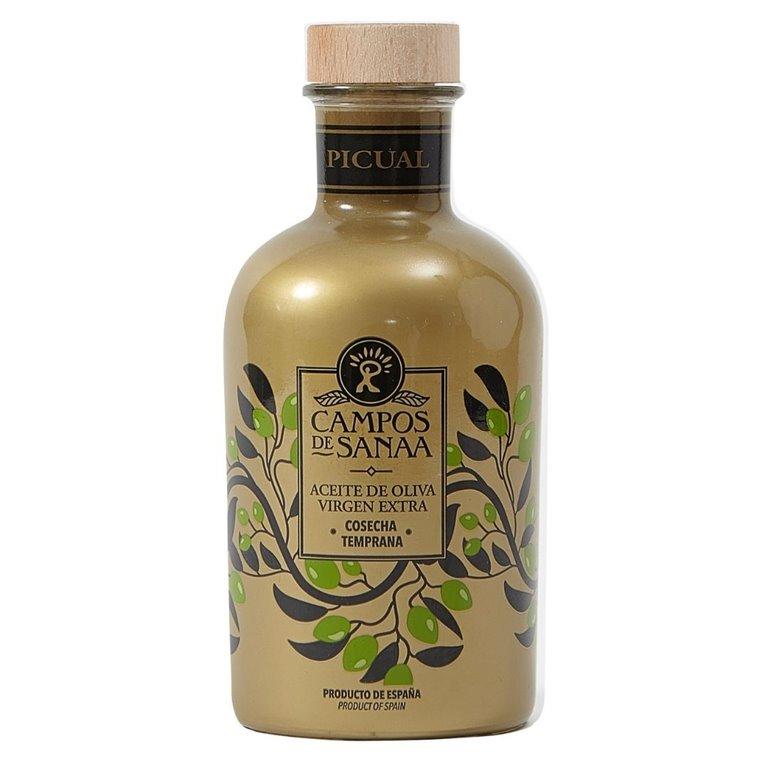 Aceite de Oliva Virgen Extra Picual Cosecha temprana.