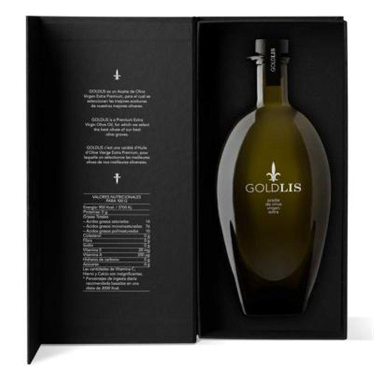 Aceite de oliva virgen extra Premium GOLDLIS 500ml c/caja, 1 ud