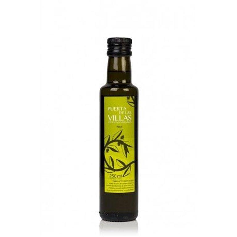 Aceite de Oliva Virgen Extra. Puerta de las Villas. Botella Dorica. 250 ml, 1 ud
