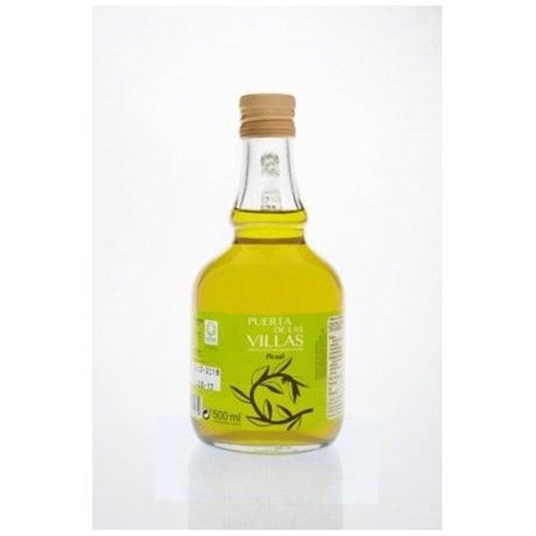 Aceite de Oliva Virgen Extra. Puerta de las Villas. Variedad Picual. Jarra 500 ml. Caja de 16 uds., 1 ud