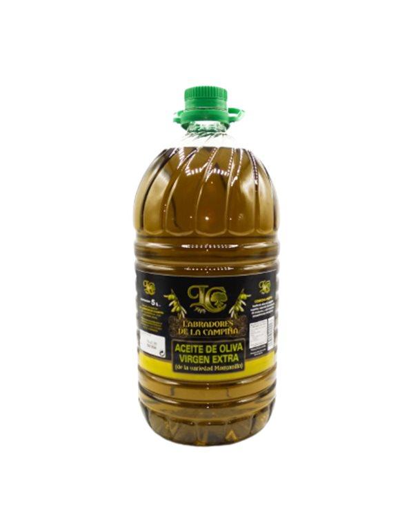 Aceite de Oliva Virgen Extra Variedad Manzanilla 5L (Caja 4 Bot.)