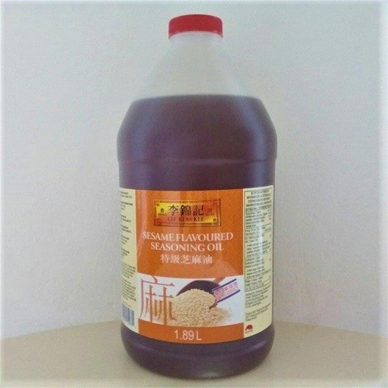 Aceite de sésamo 1.89l LKK, 1 ud