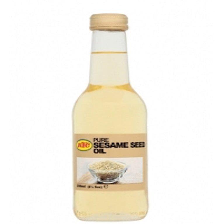 Aceite de sésamo puro 250ml, 1 ud