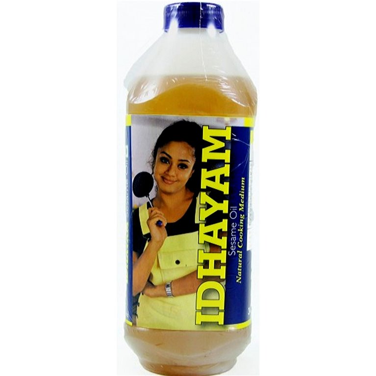 Aceite de Sesamo | Sesame oil Idhayam 1Ltr.