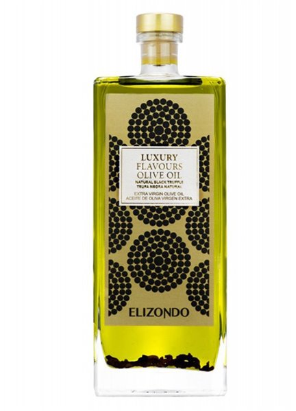 Aceite Elizondo Luxury Trufa Negra Natural 500ml.