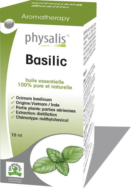 Aceite Esencial Basílico (Albahaca), 1 ud